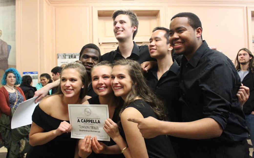 Towson Trills a capella group are ready to hit Broadway