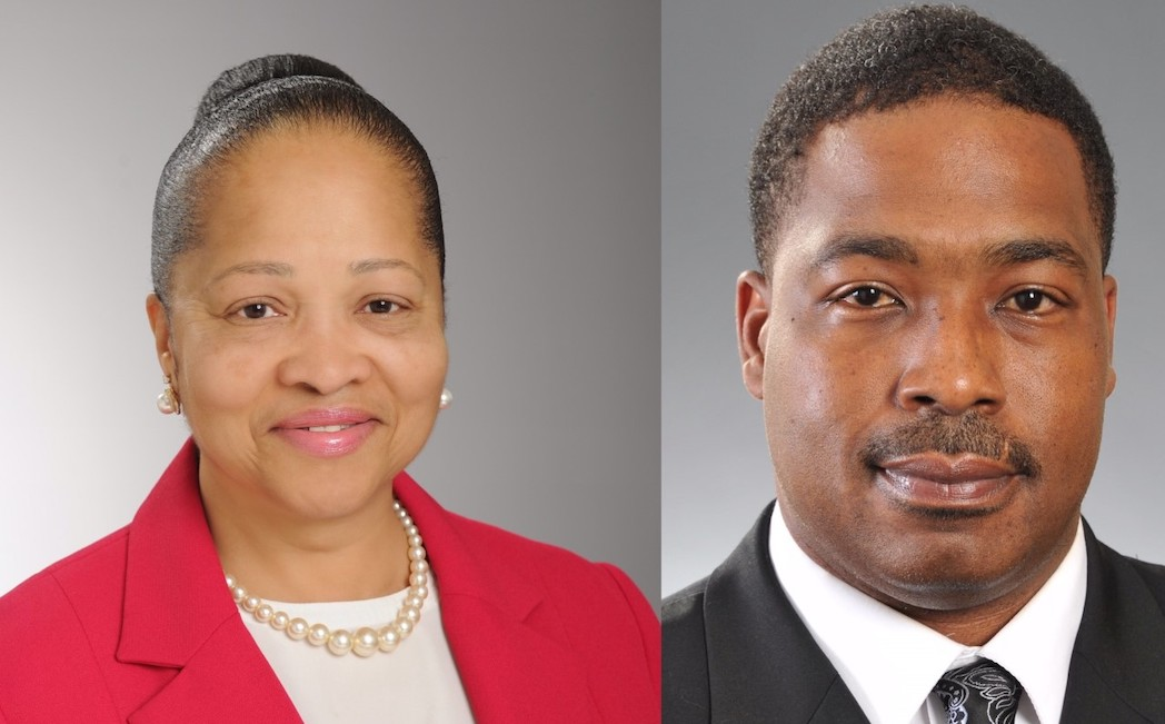 Debra Phillips and Antwaine Smith are the recipients of the 2020 USM Regents' Staff Awards
