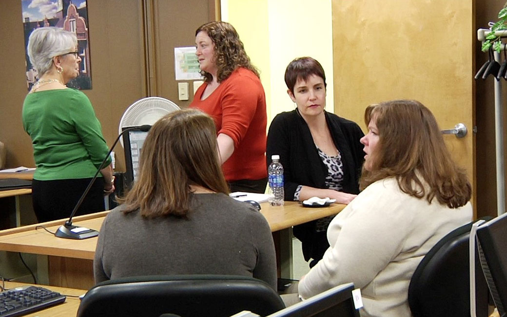 Members of the Universal Design for Learning Professional Development Network discuss UDL in the classroom