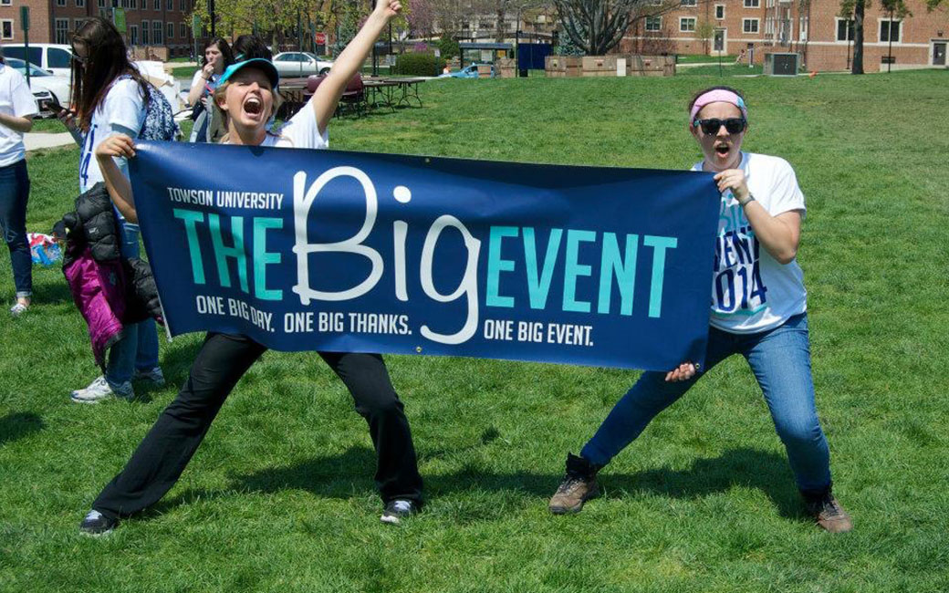 TU students at the Big Event