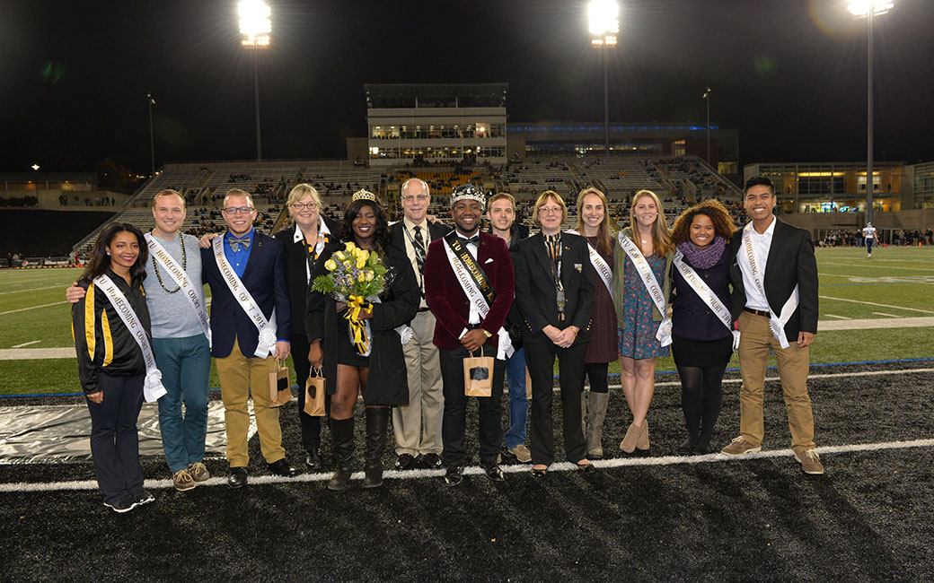 towson homecoming court
