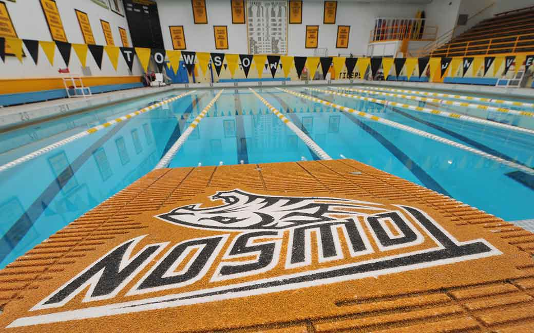 Towson Campus Recreation Burdick Pool