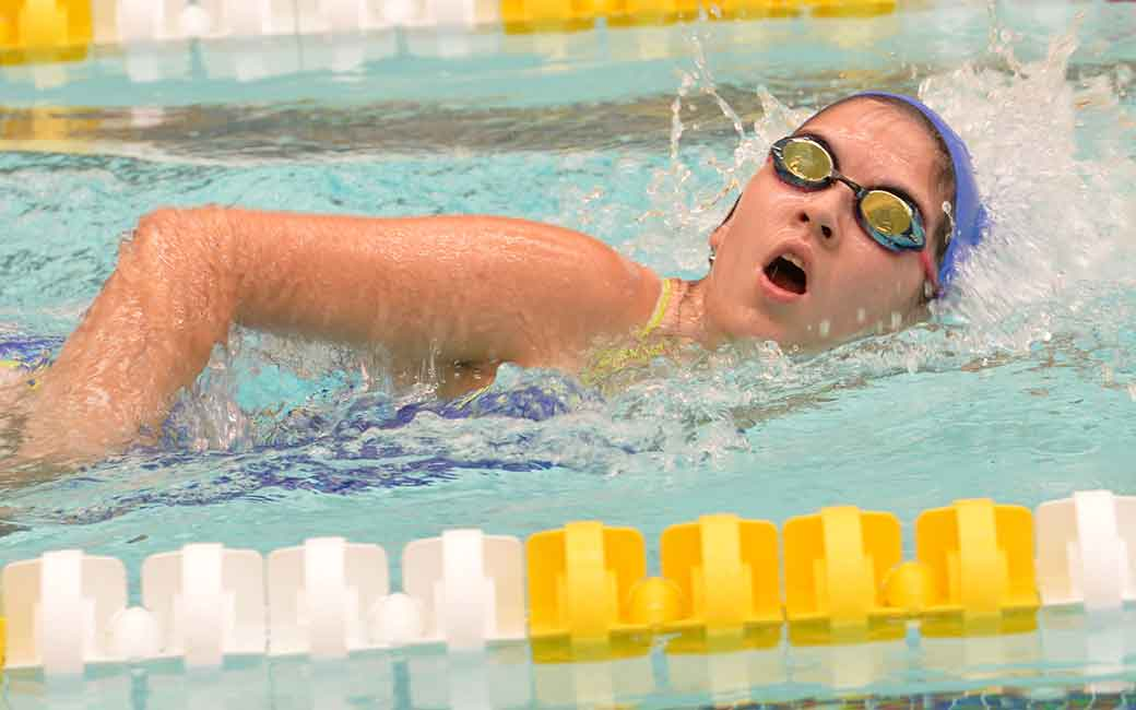 Towson Campus Recreation Swim to