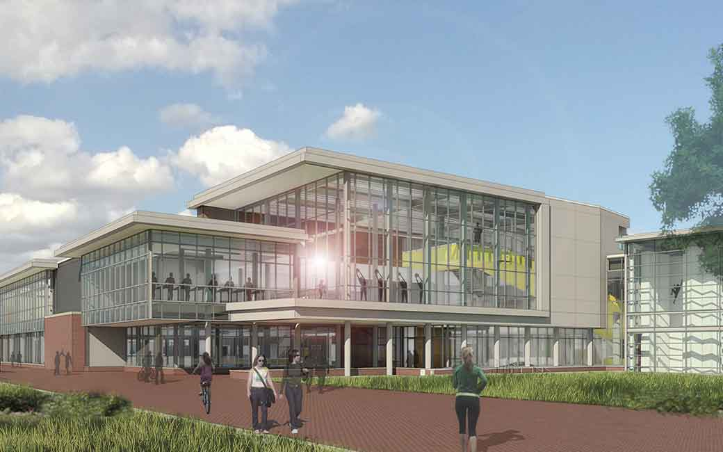 Towson Campus Recreation Expanded Burdick Hall