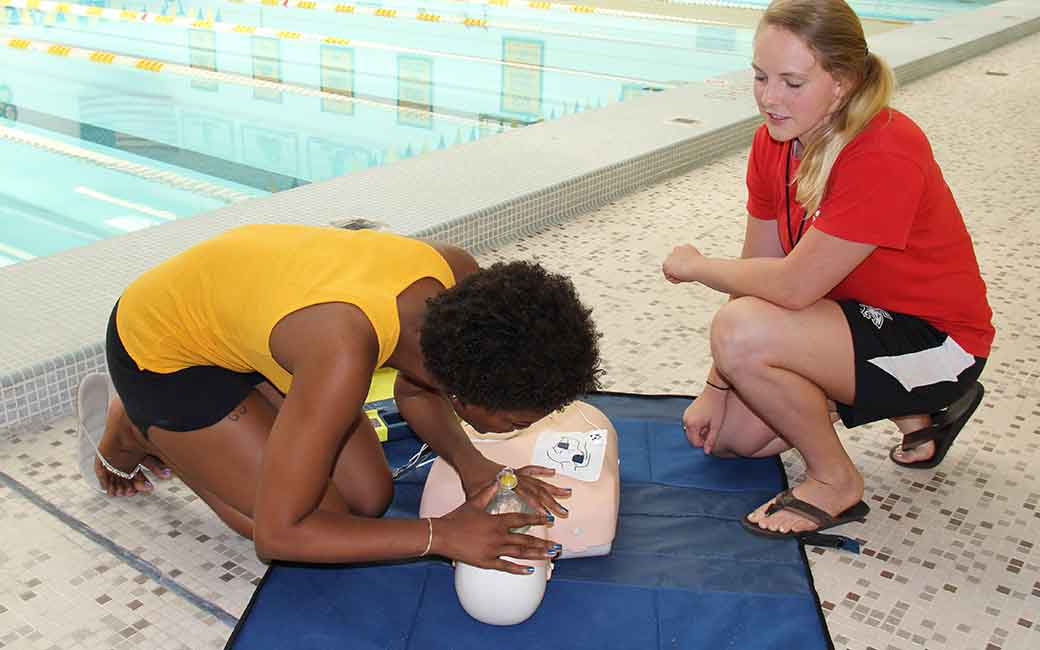 Towson University CPR Training