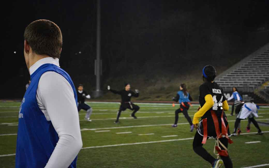 Towson Intramural Sports - Flag Football Team