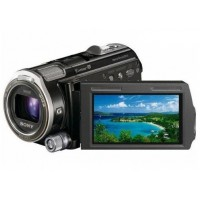 Front right view of Sony HDR-CX560 Video Camera