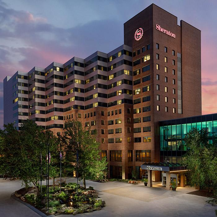 Sheraton hotel exterior